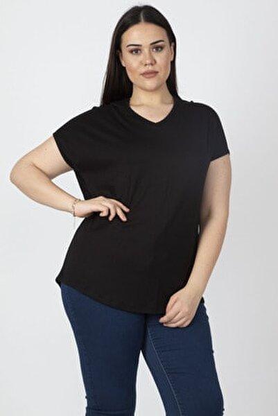 Kadın Siyah Sırt Detaylı Bluz 65N16330