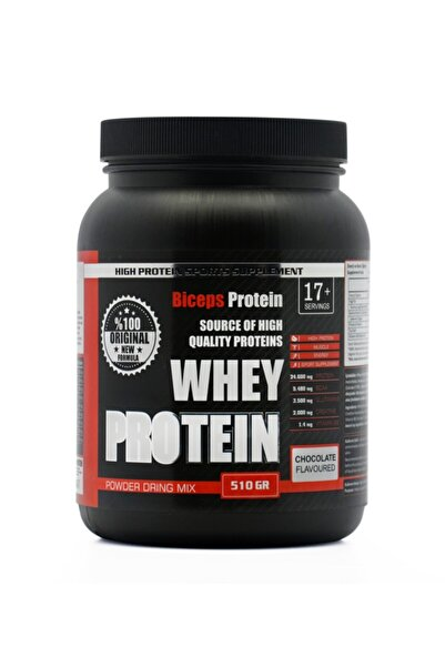 Biceps Çikolatalı Whey Protein Tozu (çikolata Aromalı) 510 gr 17