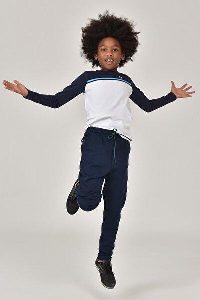 bilcee Beyaz Unisex  Uzun Kol Çocuk T-Shirt FW-1487