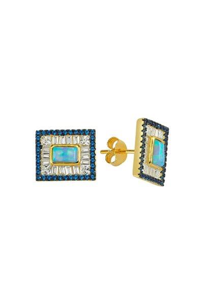 Luzdemia G. Opal Küpe 925 - 2 - Gold