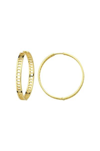 Luzdemia Küpe 925 - Altın Rengi