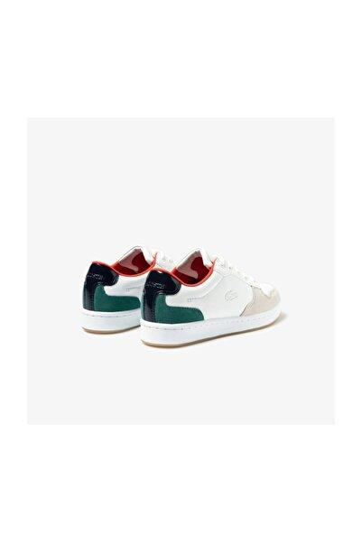 Masters Cup 120 4 Sfa Kadın Beyaz - Yeşil Deri Sneaker