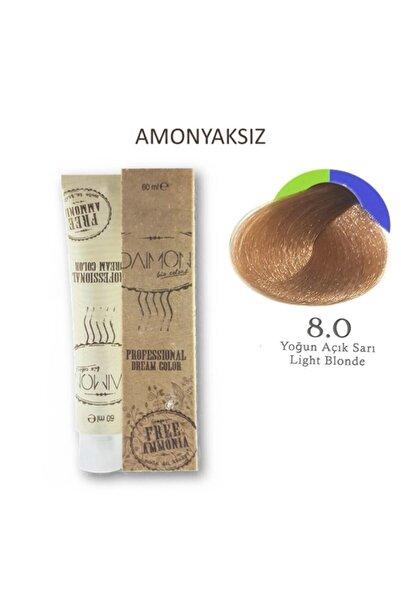 DAIMON Fa Amonyaksız Saç Boyası 8.0 Yoğun Açık Sarı