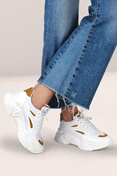 Gökhan Talay Sarı Kadın Sneaker