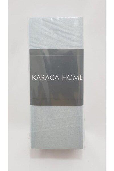 Karaca Home Penye Fıtted Çarşaf Tek Kişilik Mavi