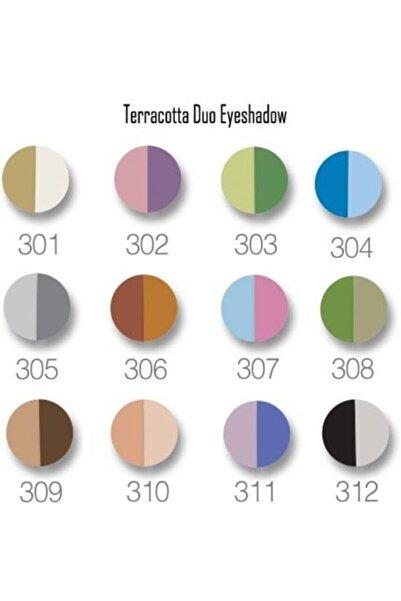 Golden Rose Terracotta Eyeshadow Duo 301