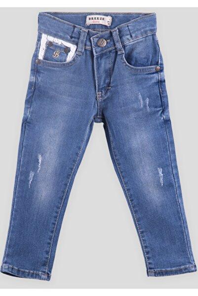 Breeze Kız Çocuk Kot Pantolon Mavi