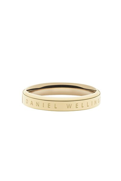 Daniel Wellington Classic Ring Yellow Gold  52 Çelik Yüzük