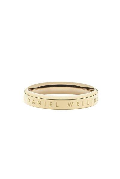 Daniel Wellington Classic Ring Yellow Gold  50 Çelik Yüzük