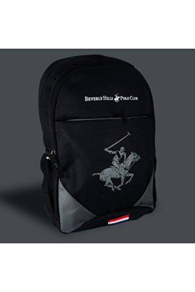 Beverly Hills Polo Club Unisex Siyah Sırt Çanta