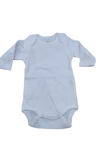 Puki Unisex Bebek Beyaz Çıtçıtlı Body