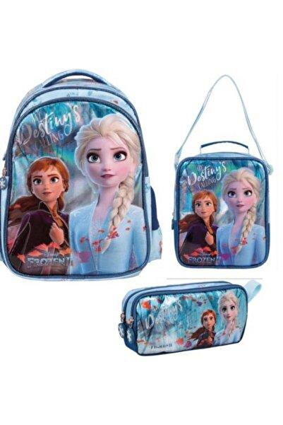 Frozen 3'lü Çanta Seti