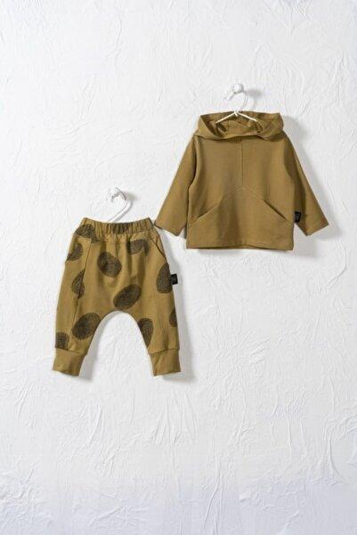 Moi Noi Unisex Bebek Yeşil Carpe Diem  Alt Üst Takım