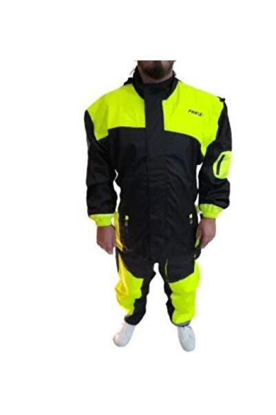 Prosev Kumaş Motosiklet Yağmurluğu Alt Üst Takım Xl