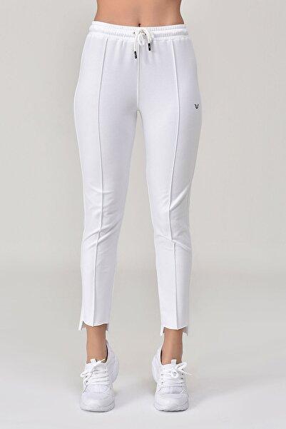 bilcee Beyaz Kadın Pantolon  GS-8098