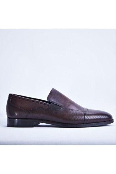 Santa Barbara Polo & Racquet Club Erkek Kahverengi Deri Klasik Ayakkabı