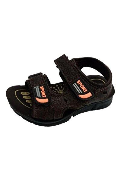 SOYLU Çocuk Kahverengi Patik Ortopedik Suya Dayanıklı Sandalet 2034