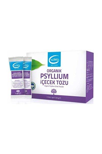The Lifeco Yayınları Organik Psyllium Karnıyarık Otu Tohumu Tozu 4grx60 Şase