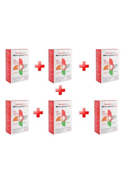 Imuneks Micro-glucan Plus 30 Kapsül 6'^lı Paket