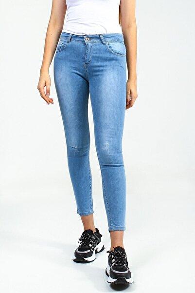 Collezione Kadın Açık Mavi Pantolon
