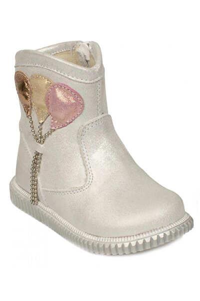 Perlina 620 B Fermuarlı Gri Çocuk Çizme