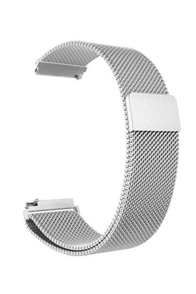 Komtech Huawei Watch Gt2 Pro Classic Sport Metal Kordon 46 mm Gümüş
