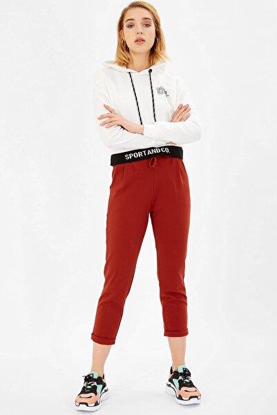 Arma Life Kadın Kiremit Beli Bağlıklı Scuba Pantolon