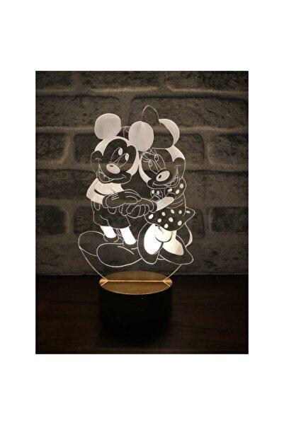 BY-LAMP Mickey Ve Minnie Mouse Lamba