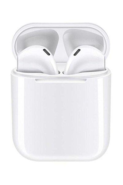 Tws Airpods I12 Beyaz Iphone Android Universal Bluetooth Kulaklık Hd Ses Kalitesi 0945347310220