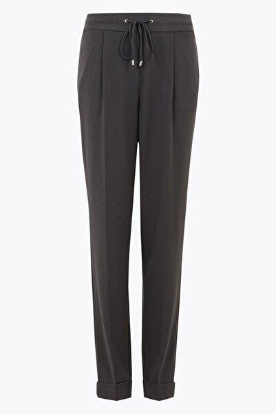 Marks & Spencer Kadın Gri Tapered Ankle Grazer Pantolon T59005010