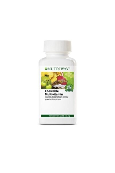 Amway Nutriway Chewable Multivitamin 120 Tablet
