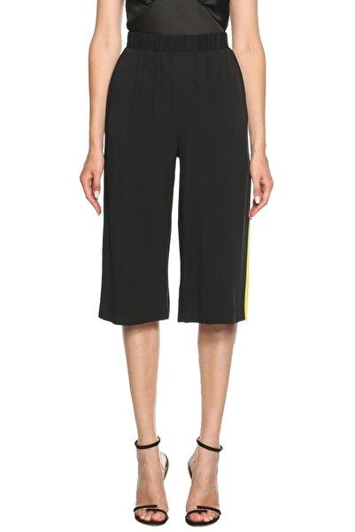 MSGM Kadın Siyah Diz Altı Pantolon