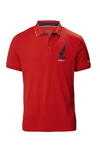 Musto Erkek Kırmızı Sardınıa Polo T-shirt