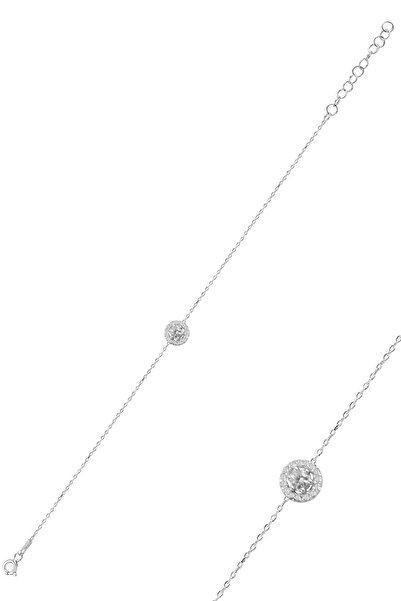Söğütlü Silver Gümüş Pırlanta Bileklik