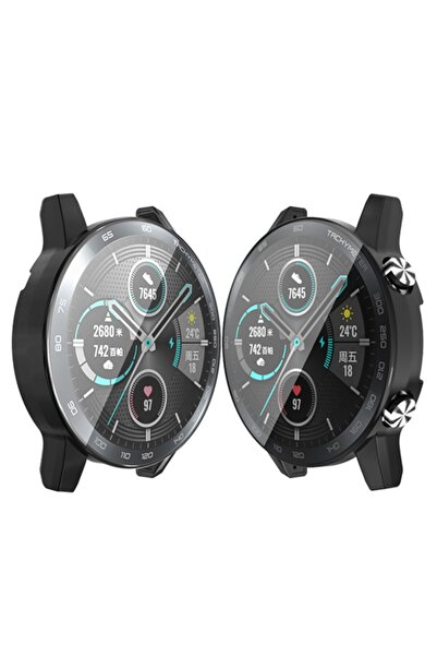 Anet Koruma Ultra Ince Silikon Kılıf Honor Watch Magic 2 46mm 360