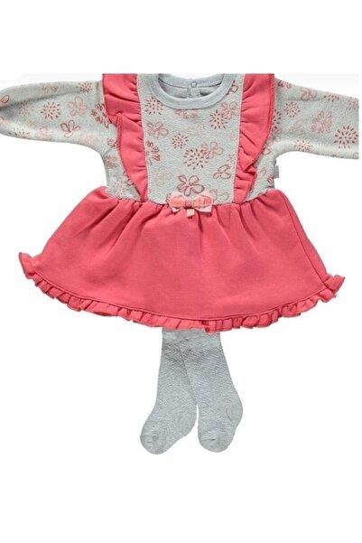 Bebetto Kız Çocuk Pembe Elbise