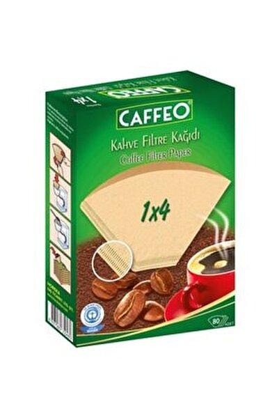 1x4 / 80'li Kahve Filtre Kağıdı