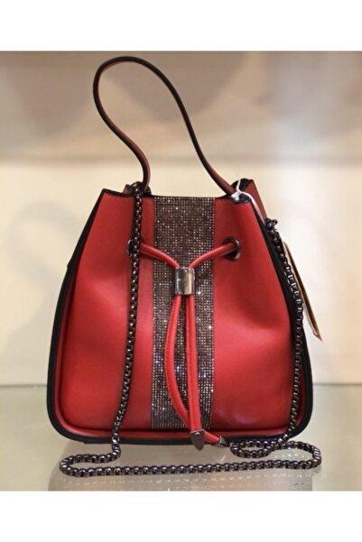DSN Kadın Kırmızı El Çanta