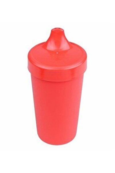 Unisex Bebek Kırmızı Akıtmaz Alıştırma Bardağı