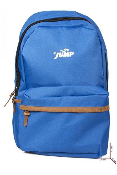 Jump Unisex Mavi Okul Çanta 1065a