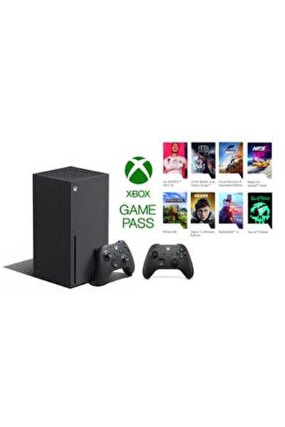 Xbox Series X 1TB SSD Oyun Konsolu + 1 Kol Siyah + 1 Yıl Live Gold + Gamepass