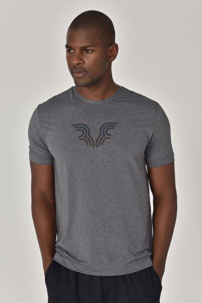 bilcee Erkek Antrasit T-Shirt GS-8879