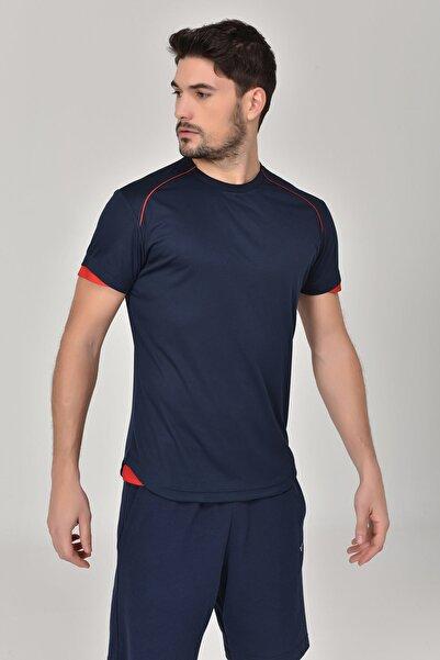 bilcee Erkek Lacivert T-shirt Gs-8821