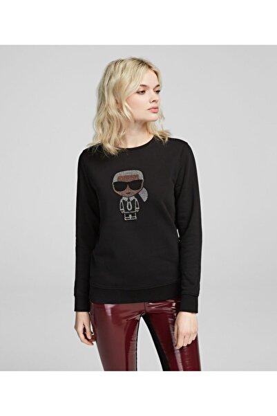 Karl Lagerfeld K/ıkonık Sparkle Sweatshırt