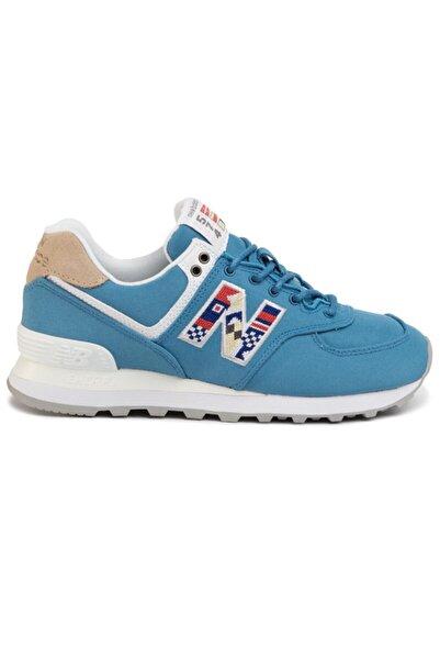 New Balance Kadın Mavi Ayakkabı Wl574sog