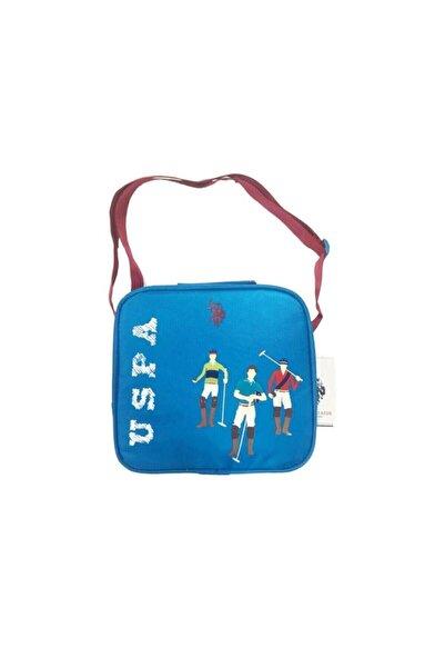 U.S. Polo Assn. Unisex Çocuk Mavi İlkokul Beslenme Çantası Plbsç9260