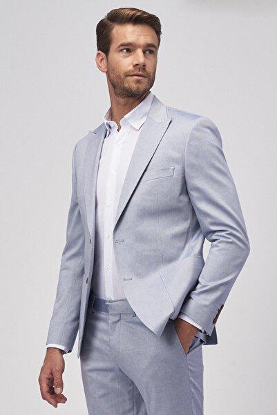ALTINYILDIZ CLASSICS Erkek Lacivert Ekstra Slim Fit Spor Takım Elbise