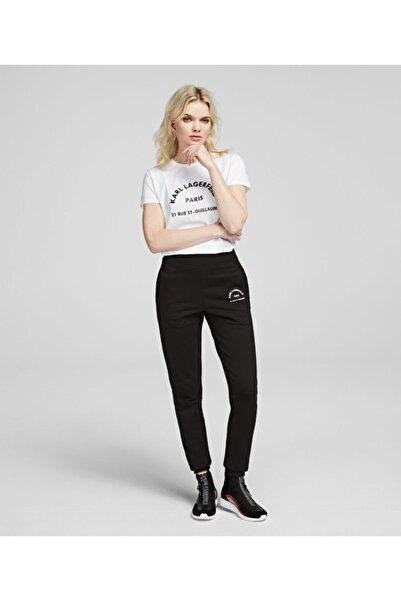 Karl Lagerfeld Kadın Siyah Address Logo Joggers