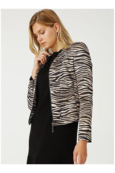 Ekol Kadın Siyah Ceket
