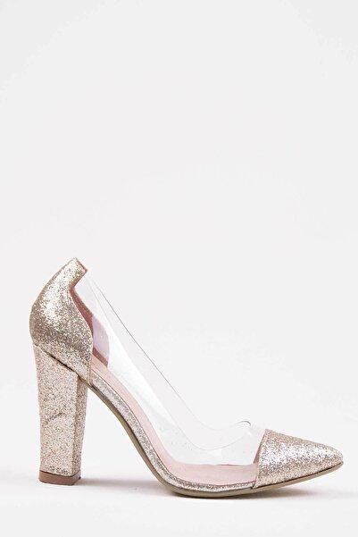 Oioi Kadın Gold Topuklu Ayakkabı 1010-119-0002_1012